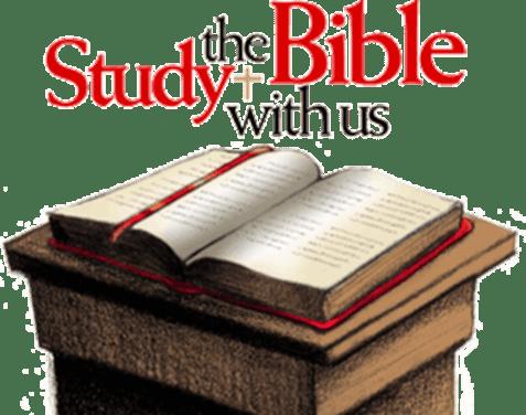Bible 101November 24th