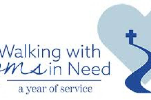 Walking with Moms in Need<br>A Year of Service