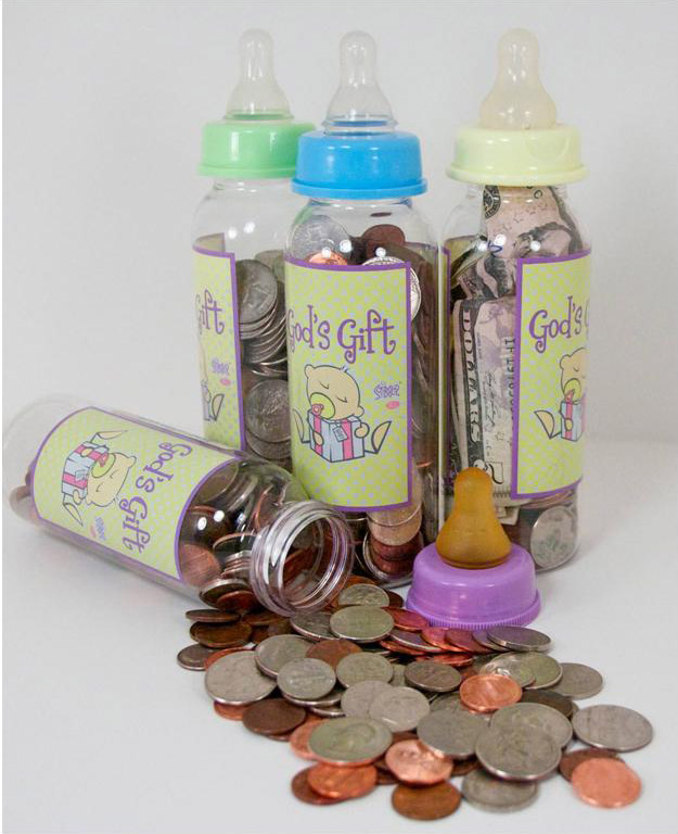 God's Gift Baby Bottle CampaignBegins January 9th/10th