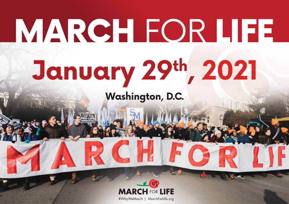 March For Life 2021January 29th