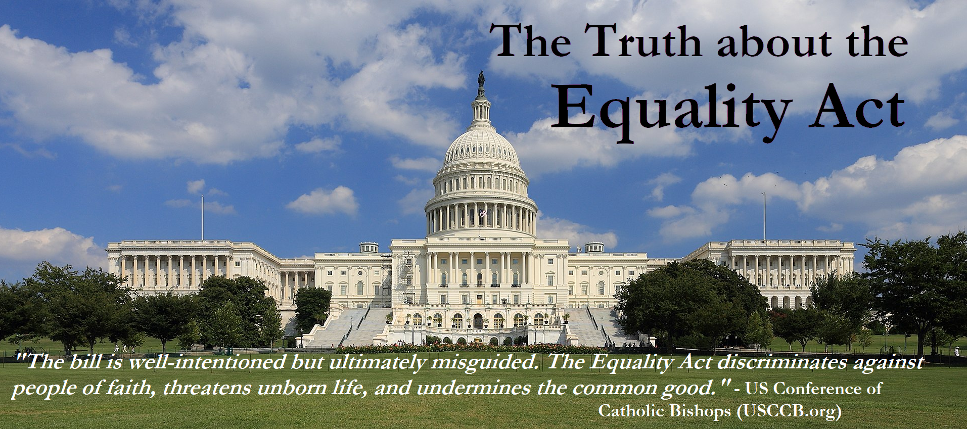 The Truth About the Equality ActMarch 7th