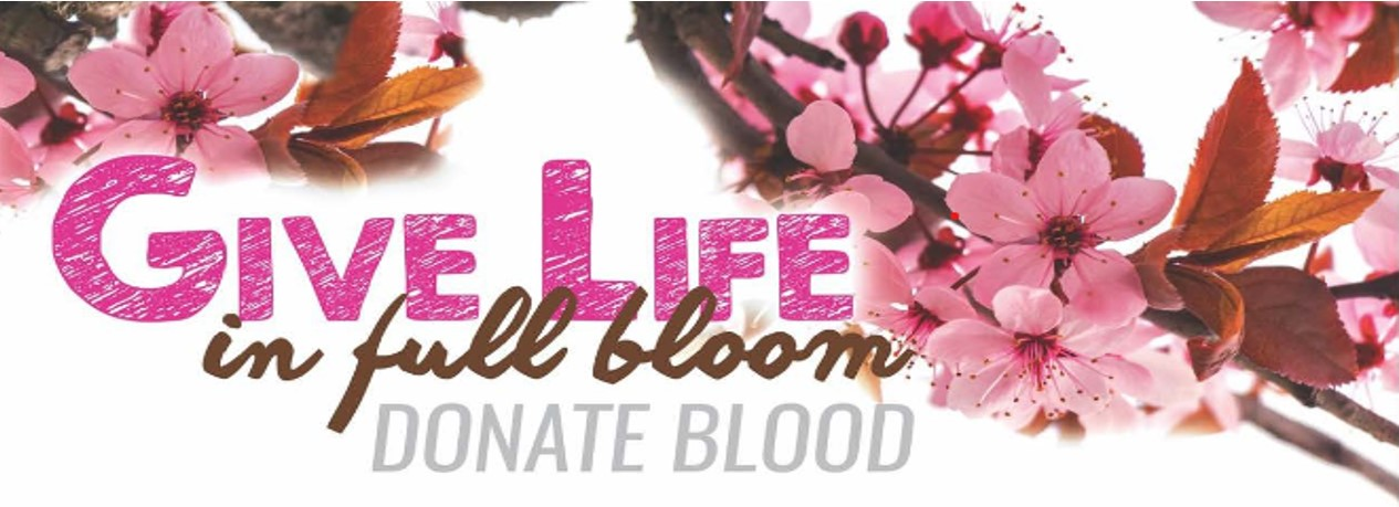 Blood DriveMarch 20th