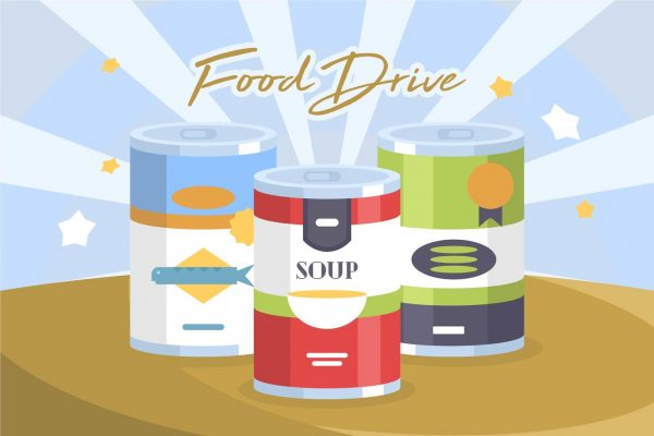 ACTS FOOD DRIVE<br>Month of April