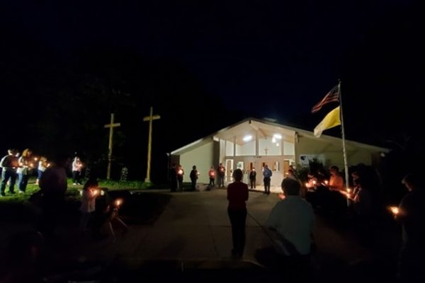 3rd Annual Candlelight Recitation of the Rosary